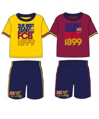 FCB Komplet 2cz bluzka spodenki FC Barcelona