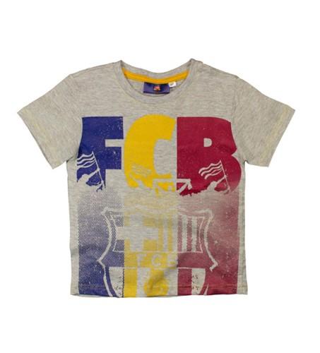 5901854819013 T-shirt FC Barcelona szary