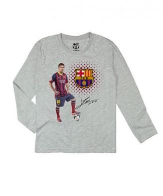 FCB bluzka długi rękaw FC Barcelona Messi