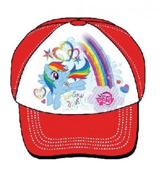 5908213386094 Czapka z daszkiem My Little Pony czerwony