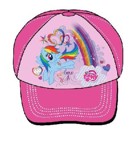 5908213386094 Czapka z daszkiem My Little Pony różowy