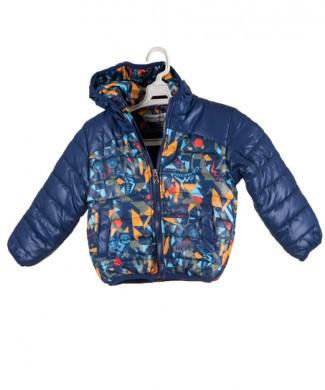 kurtka ziomowa chlopiec niebieski kolorowy IMG_1183