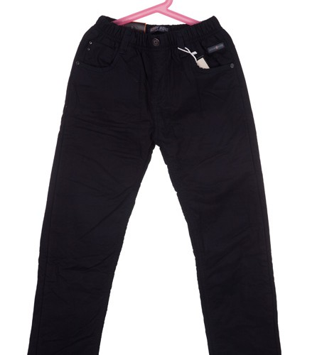 spodnie czarne megajunior_44