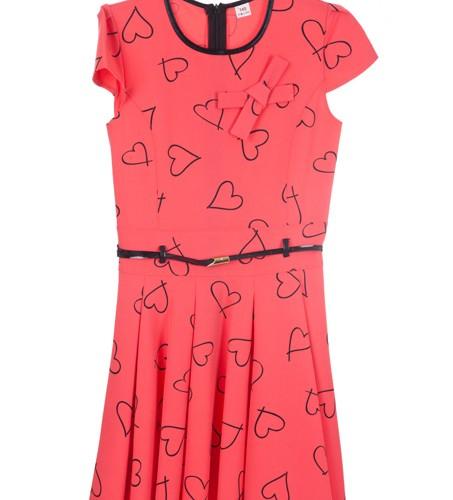 sukienka czerwony megajunior_24
