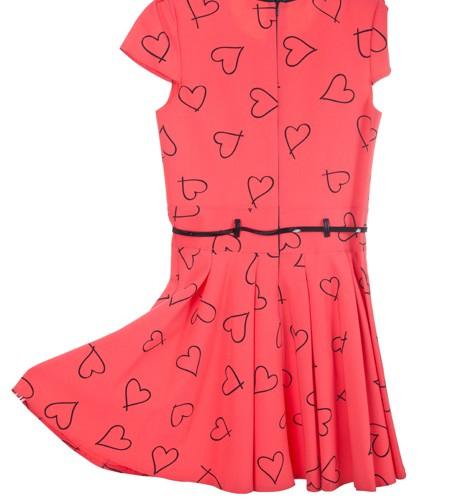 sukienka czerwony megajunior_25