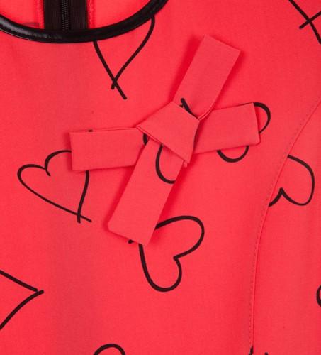 sukienka czerwony megajunior_26