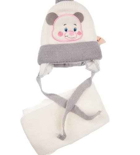 czapka zimowa i szalik komplet piesek megajunior_4