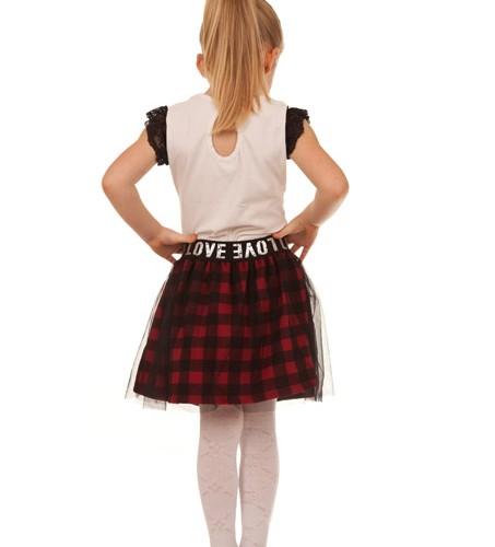 spodniczka dla dziewczynki bluzka tygrys megajunior_1
