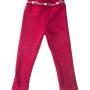 spodnie ocieplane rozowy dla dziewczynki megajunior