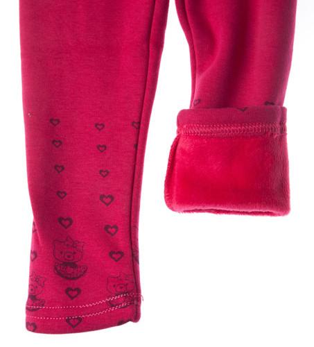 spodnie ocieplane rozowy dla dziewczynki megajunior_1